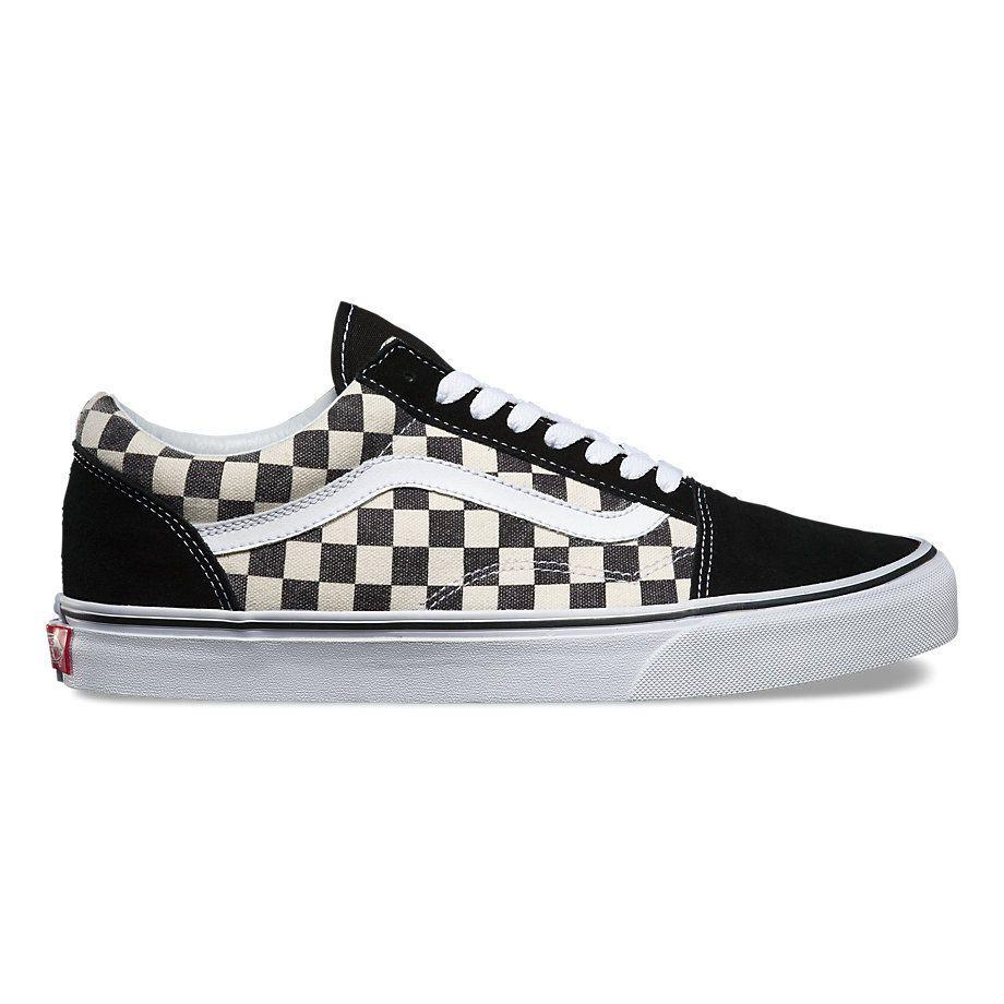 31778c9f9019 Кеды Vans Old Skool Checkerboard V3Z6IB9 черно-белые - купить за 4 ...