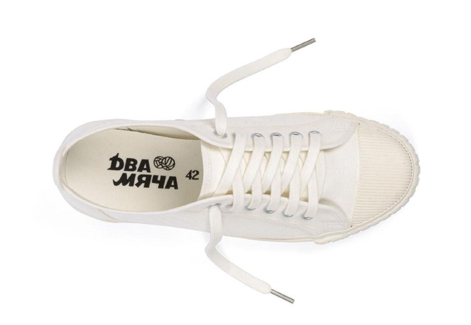 d127cf53a Кеды Два мяча Модель 1971 белые - купить за 3 800 руб. в интернет ...