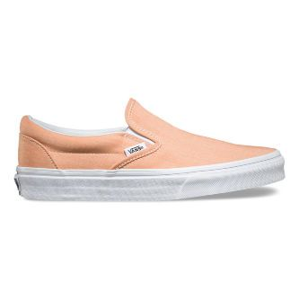Слипоны Vans Classic Slip-On Chambray V3Z4IAX оранжевые