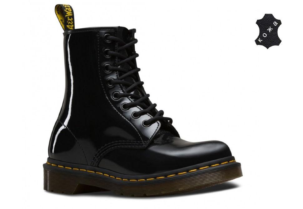 b2eabfab Кожаные женские ботинки Dr.Martens 1460 W 11821011 черные. Цена: 12 870 ...