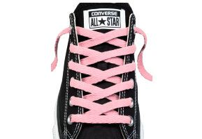 Шнурки converse (конверс) Low-Top Replacement розовые 137 см