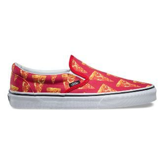 Слипоны Vans Classic Slip-On Late Night V3Z4IFE красные