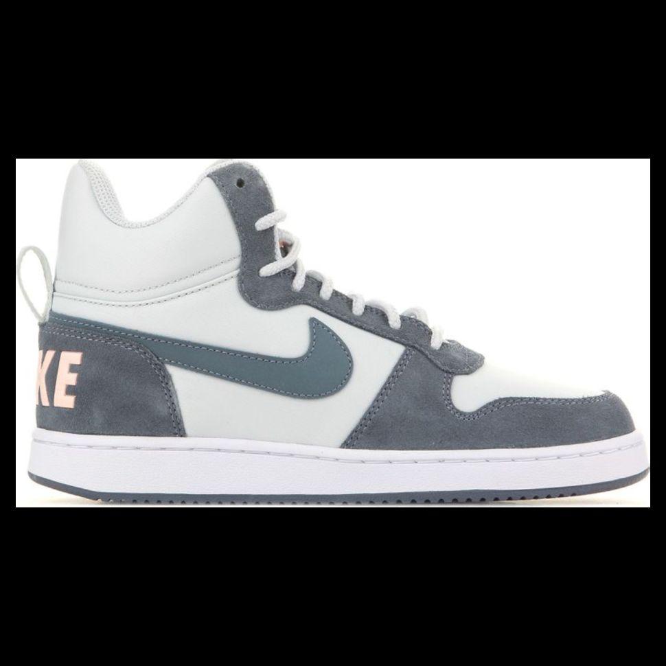afe74604 Кроссовки женские Nike Recreation Mid-Top Premium Shoe 844907-005  баскетбольные легкие серые