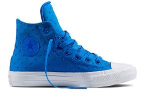 Кеды Converse Chuck Taylor All Star II 555801 голубые