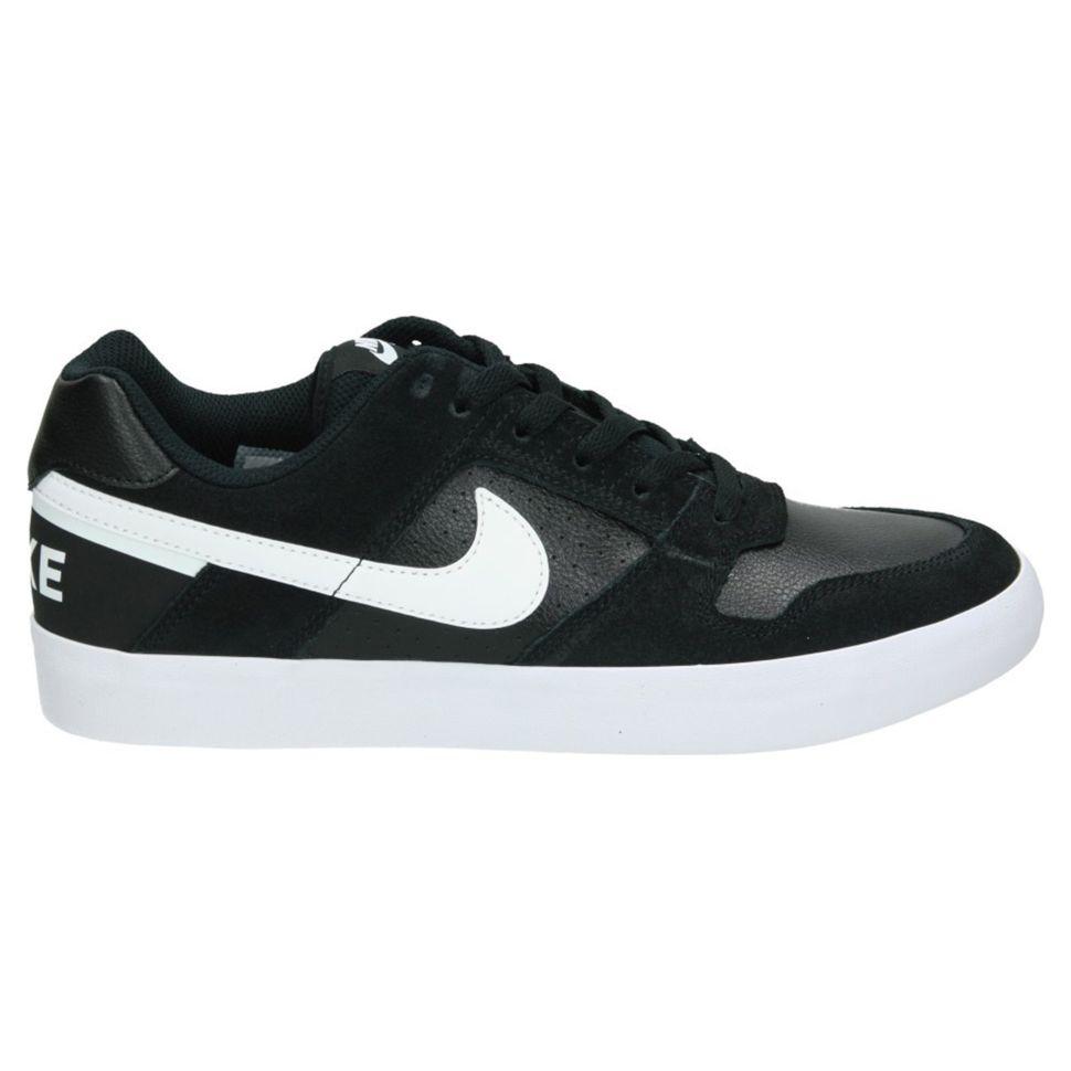 f04d0be7 Кеды мужские Nike Nike Sb Delta Force Vulc Skateboarding Shoe 942237-010  кожаные черные