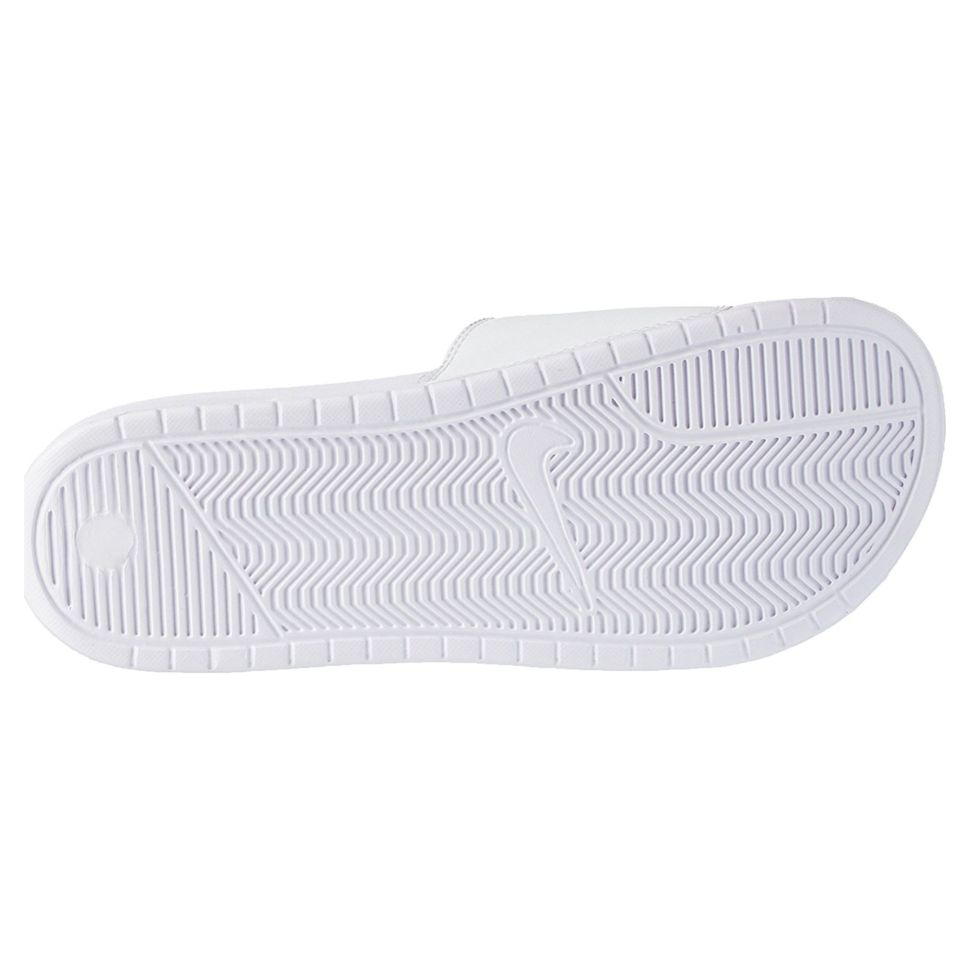 31a80353 Сланцы мужские Nike Benassi Jdi\White/Varsity Royal-White 343880-102 пляжные