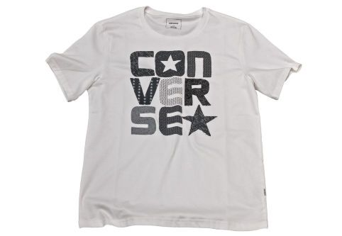 Футболка мужская Converse Knitted Men's SS Crew Tee 10003427102 белая