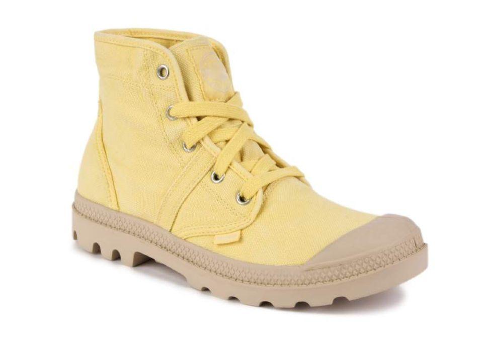 efad3bf9 Женские ботинки Palladium Pallabrouse 92477-701 желтые - купить за 2 ...