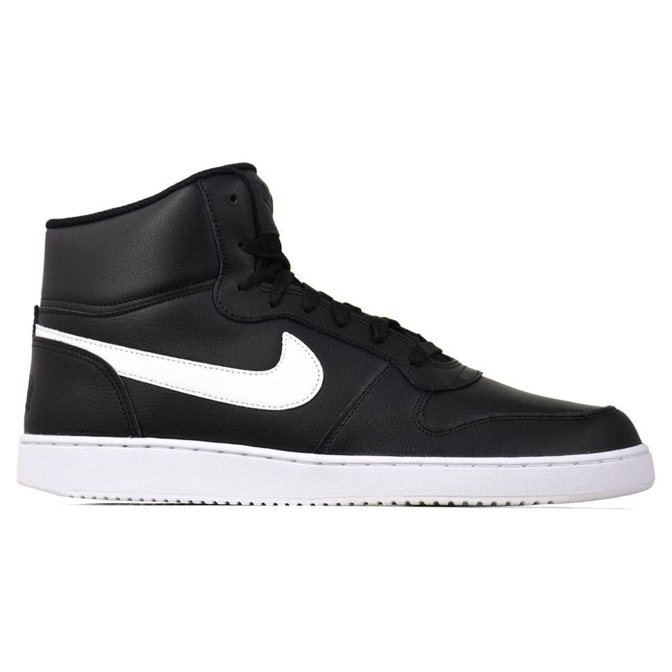 caf80096 Кроссовки мужские Nike Nike Ebernon Mid AQ1773-002 высокие черные ...