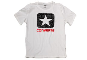 Футболка мужская Converse Knitted Men's SS Crew Tee 10003677102 белая