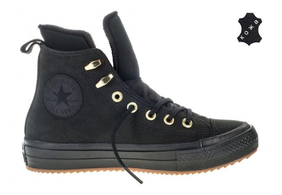 0ab78f60 Кеды Converse Chuck Taylor WP Boot 557945 черные - купить за 8 950 ...