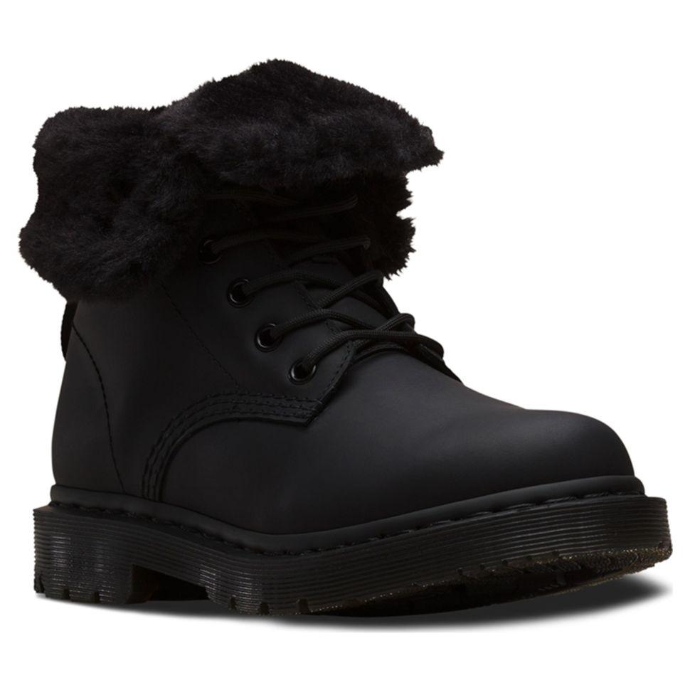 Ботинки женские Dr.Martens 1460 Kolbert Snowplow 24015001 высокие зимние с  мехом 2bc63197d1b9c