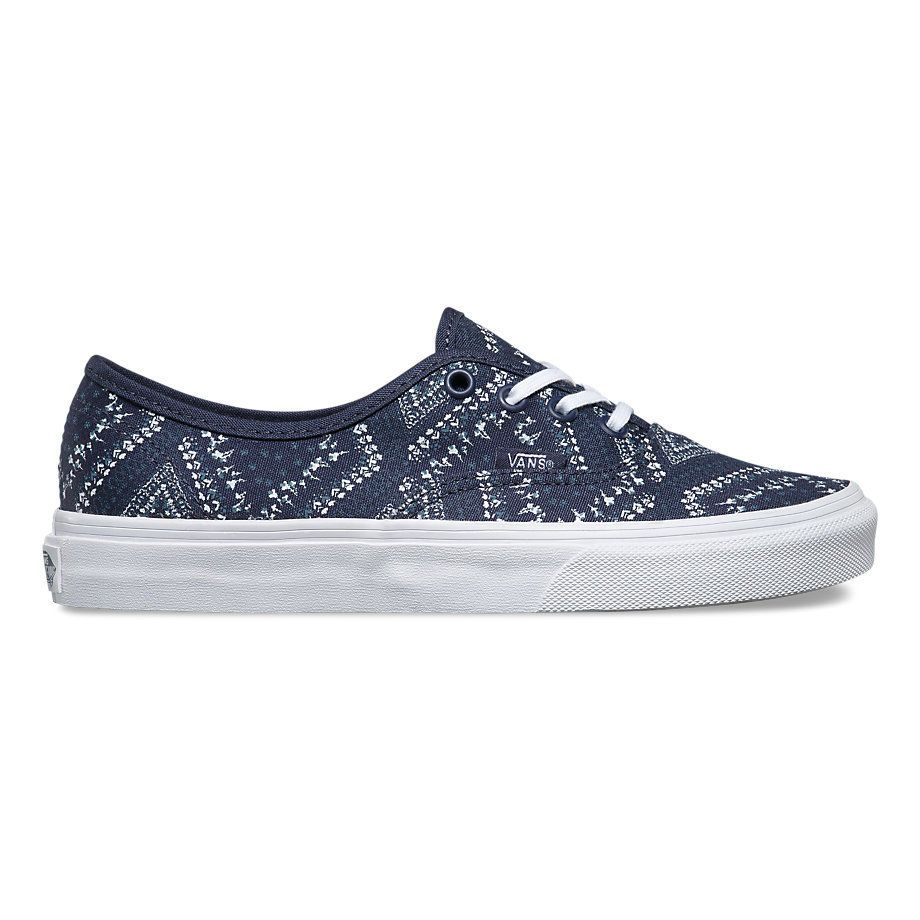 3f553b75 Кеды Vans Authentic Ditsy Bandana V004MLJOQ синие - купить за 3 350 ...
