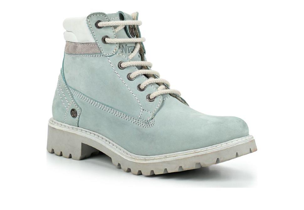 560a5f48 Зимние женские ботинки Wrangler Creek Fur S WL182530-12 голубые ...