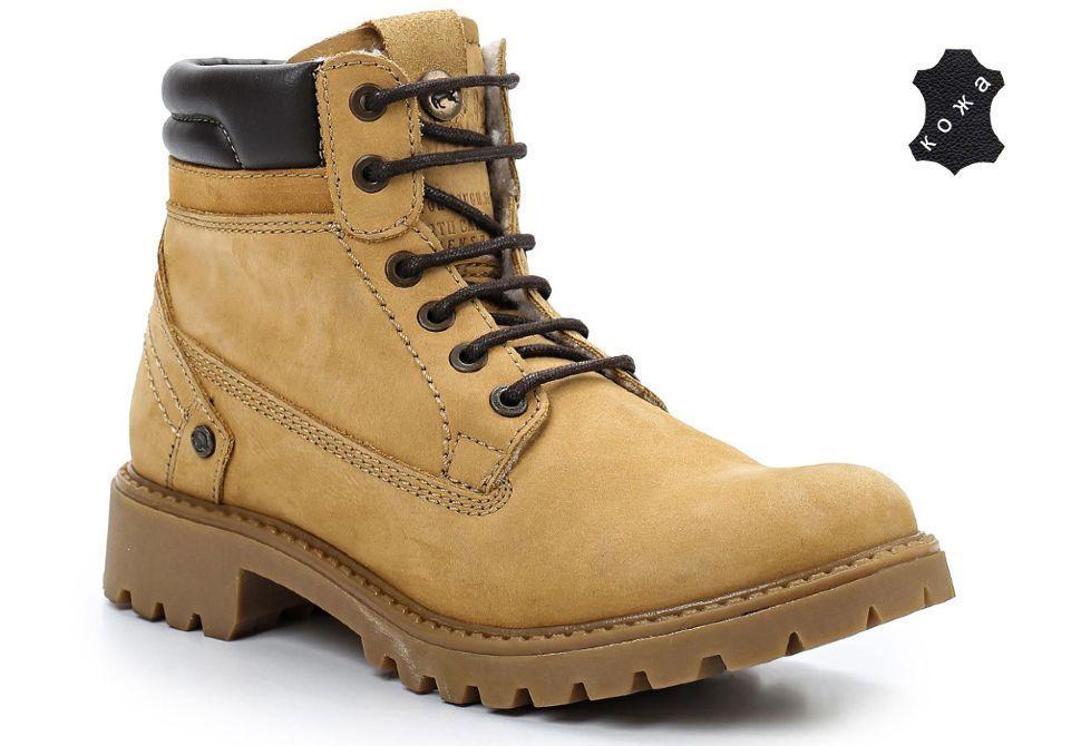 08cf907b Зимние женские ботинки Wrangler Yuma Line Creek Fur Nubuck WL142500/F-24  светло-