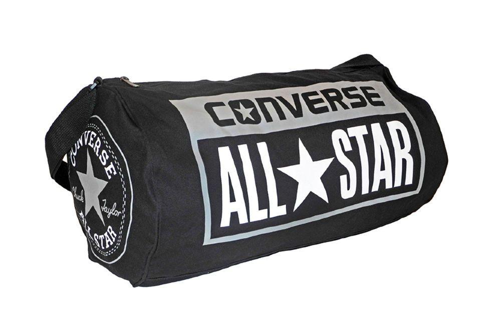 4e33b747a5f9 Спортивная сумка Converse (конверс) Duffel черная - купить за 2 340 ...