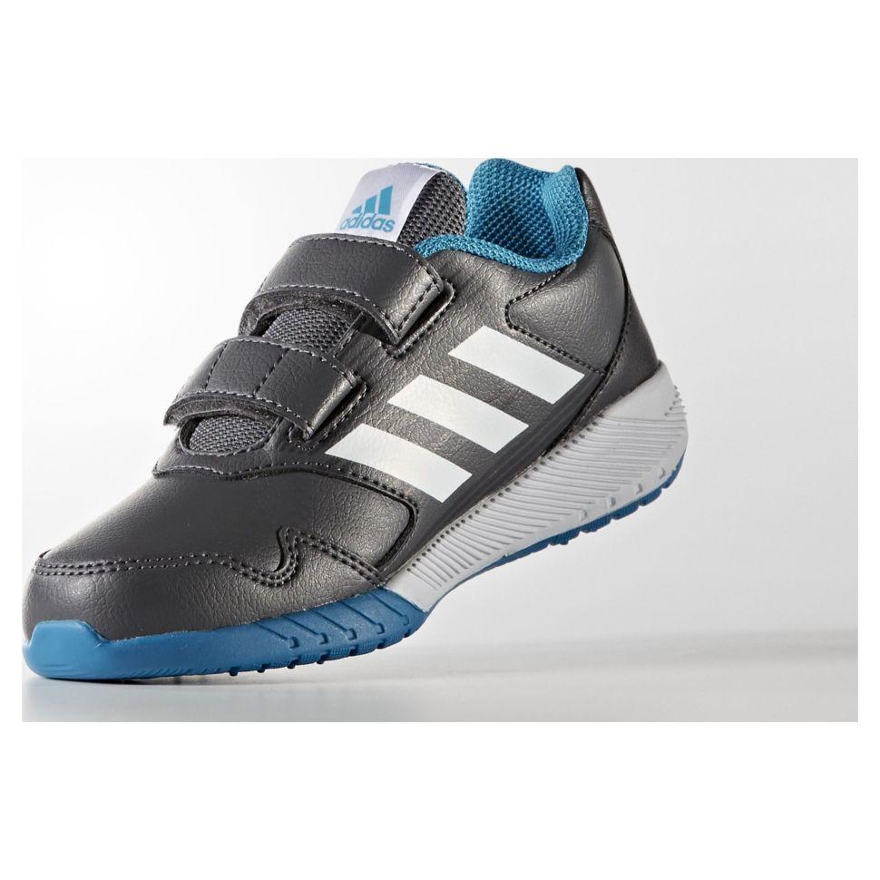 Кроссовки детские Adidas Altarun Cf K Grefiv Ftwwht Utiblk CM7189 детские  детские на липучке серые 46307b674ff