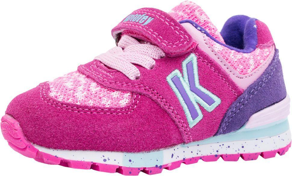 Детские кроссовки Котофей 144076-72 для девочек розовые ab16881bac2