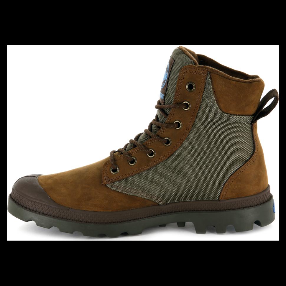 8f5522e75 Ботинки мужские Palladium Pampa Sport Cuff Wpn 73234-207 кожаные ...