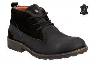 Мужские кожаные ботинки Wrangler Massive Desert WM122052-62 черные. Цена  5  600 ... 0129f8af94a13