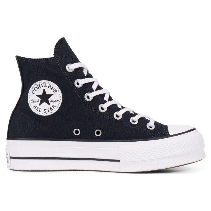 Купить кеды женские Converse Chuck Taylor All Star Lift 560845 высокие черные - продажа в Москве, цены в интернет-магазине OIMIO.RU