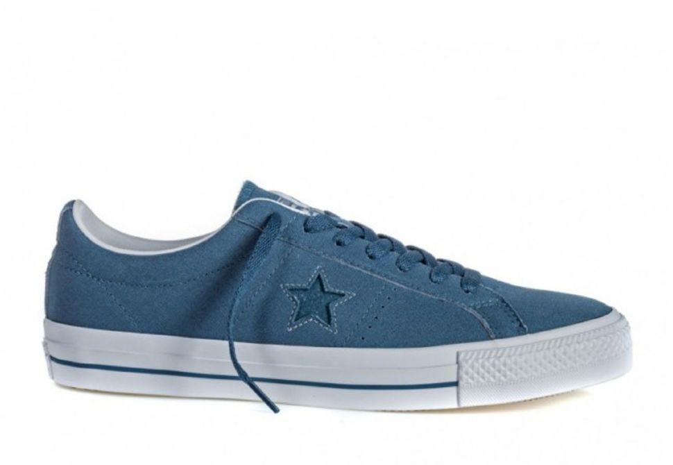 ... Кеды Converse One Star Pro 155527 синие cheap trainer 44361 f2682 ... 8689de3bd7e4b