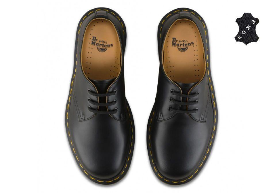 Кожаные ботинки Dr.Martens 1461 11838002 черные - купить за 12 700 ... 441818d791536