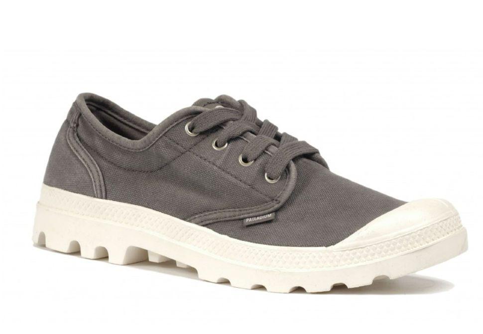 Мужские ботинки Palladium Pampa Oxford 02351-011 серые - купить за 3 ... 08ad80596f51a