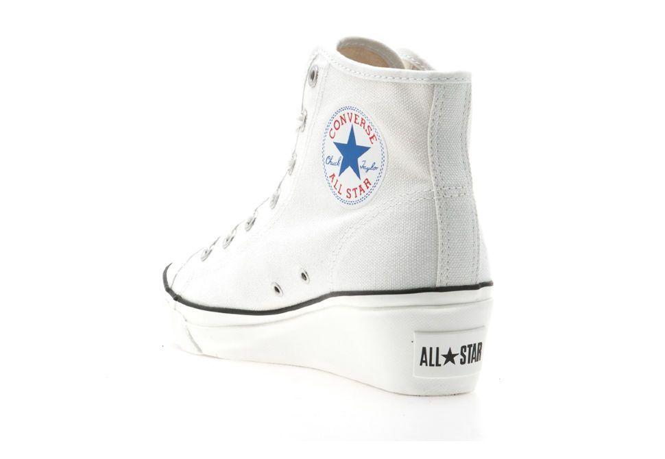 a27001af1394 ... Optical White M7650 унисекс (белый) 17589  Женские кеды Converse  (конверс) Chuck Taylor All Star Hi-Ness 537106 белые 987c0 ...