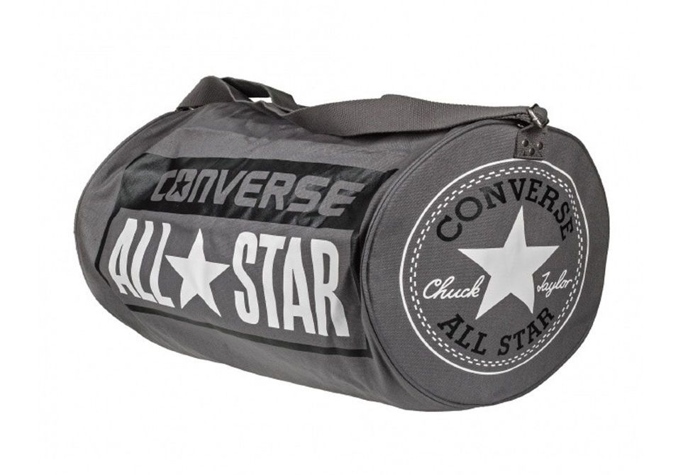 ab388990ebc8 Спортивная сумка Converse LEGACY BARREL DUFFEL BAG 10422C010 серая ...